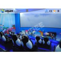 China Curved Screen Immersive 5D Movie Theater System Have A Intelligent 5D Control System wholesale