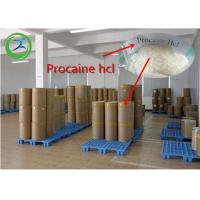 China Procaine HCl Local Anesthetic Agents White Powder CAS 51-05-8 99% Assay wholesale