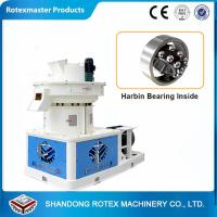 China High Efficiency Biomass Ring Die Pellet Machine / Rice Husk Pellets Mill Machine wholesale