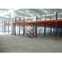 Wholesale high strength pallet rack mezzanine 300 - 1500kg per layer loading capacity from china suppliers