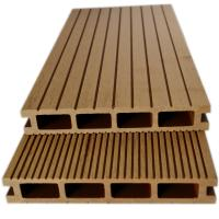 China wood plastic composite decking above ground pool  solid composite decking wholesale