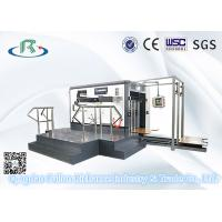 China Flatbed Semi-Automatic Carton Box Creasing Die Cutting Machine wholesale