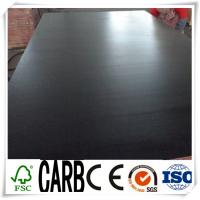 China 18mm Black Film Faced Construction Plywood, Concrete Formwork in Construction wholesale