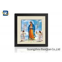 China Religion Photo Custom Lenticular Poster 3D / 5D Decorative For Living Room wholesale