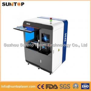 China Small size metal laser cutting machine , Fiber laser cutting equipment on sale