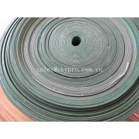 China Oil - Proof Green PVC Rubber Conveyor Belt With Cleat Flange Skirt Sidewall wholesale