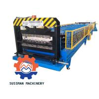 China Metal Galvanized Aluminum Roof Panel Roll Forming Machine With Seam Boltless wholesale