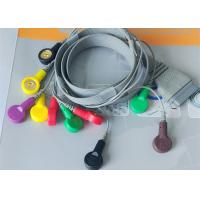 China 10 Leads ECG Monitor Cable For Hospital Medical Care BI holter Recorder wholesale