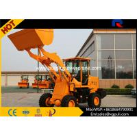 China Mini Wheel Loaders 30KN Breakout Force , Micro Loader Truck 1800kg Load wholesale
