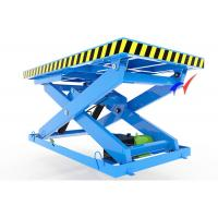 China 5 - 8m/H Three Electric Lift Table Stationary Hydraulic Scissor Table For Factory wholesale