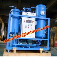 Buy cheap Vacuum Oil Purification System Equipped Dirty Turbine Oil Recovery Machine/Removing Free Water and Dissolved Wate from wholesalers