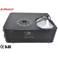 China 1500 Watt Professional LED Up Fog Machine DMX512 Smoke Machine With 12 * 3W RGB LED    X-01 wholesale