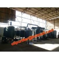 China New Sale Black Oil Recycling Equipment,Car Engine Oil Distillation Equipment wholesale