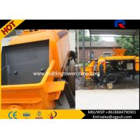 China Mini Hydraulic Diesel Concrete Pump With Double Circuit Opening System wholesale