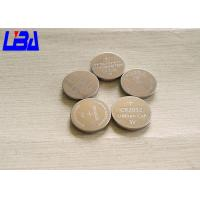China Button CR2032 Mno2 Lithium Ion Battery Cell  Non Rechargeable Light Weight wholesale