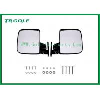 China Foldable Golf Cart Side Mirrors With LED Light / Golf Buggy Accessories wholesale