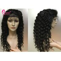 China 130% 150% 180% Density Human Lace Front Wigs 100% Natural Cuticle Aligned wholesale