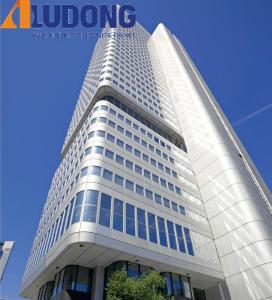 China PVDF Coating 1220*2440mm Exterior Decorative Wall Panels Rustproof wholesale