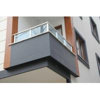 Quality Wooden Texture No1 Fibre Cement Board Cladding Panels Decorative Faster - for sale
