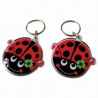 China Photo Keychains, Customized Shapes, Sizes, Designs and Logos are Accepted wholesale