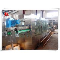 China PET Bottle Washing Filling And Capping Machine , Volumetric Liquid Bottle Filling Machine 3.63KW wholesale