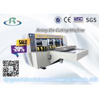 China Less Cost Hot Sale Automatic High Speed Rotary Die Cutting Box Machine wholesale