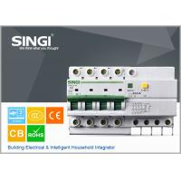 China SG65LE-63 63A  RCCB residual current circuit breaker 4P / 63A / 230VAC , electric mcb wholesale