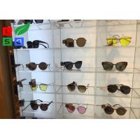Quality Illuminated LED Shop Display DC 12V Sunglasses LED Display With Acrylic Case Built - In for sale