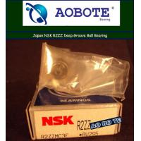 Quality Deep Groove NSK Ball Bearing R2ZZ With Single Row ABEC 4 for sale
