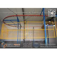yellow color portable fence panels China Supplier