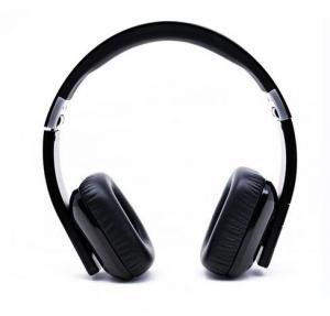 China Fasion Foldable Wireless Hi-fi NFC stereo bluetooth headphone TTS Dual Language wholesale