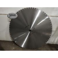 China Single U Tooth Diamond  Wall Saw Blades , Concrete Cutting Saw With Sharp Segments wholesale