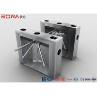 China Drop Arm Coin Operated Turnstile Security Gates With Reliable Entrance Solution wholesale