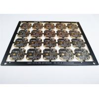Buy cheap 4 Layers HDI Printed Circuit Boards Black Soldermask White Silkscreen from wholesalers