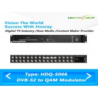 Wholesale High Integration MUX & SCR QAM RF Modulator With 16 DVB - S2 Tuner Input from china suppliers