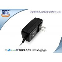 Buy cheap 24W two US PIN  universal AC DC swiching power Adapter 5V 3.5A with Indicator Light from wholesalers
