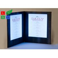 China Customized Made LED Shop Display Stain Resistant For Restaurant Menu Display wholesale