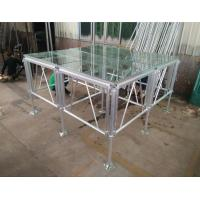 Quality 18mm Thinckess Aluminum Acrylic Portable Stage Platforms with Truss System and Tent for sale