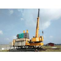 China Concrete Hydraulic Static Pile Driver , Square Pile Driving Equipment wholesale