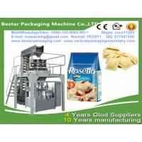 Quality frozen ravioli packing machine with MultiHead Weigher Filling VFFS premade bag for sale