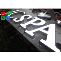 China Front Lit 3D Logo LED Shop Display LED Channel Letter Signs For Outdoor Shop Display wholesale