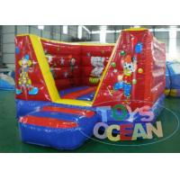 China 4.5 X 4.5m Red Inflatable Bounce House Inflatable Clown Circus Jumping Bouncer wholesale