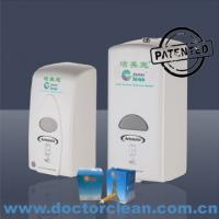 China 1000ml Plastic Healthcare Medical and Surgical Hygiene Disinfection Alcohol Sanitizer Dispenser on sale