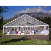 China Outdoor Entertainment Luxury Clear Cover Outdoor Party Tents 100% Re - Locatable wholesale