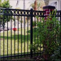 China Popular Aluminum Privacy Temporary Fence, New Design Aluminum Fence Panels for Sale wholesale