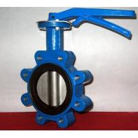 China Ductile Iron Centerline Butterfly Valves Lug Style Pneumatic Operated ANSI 150 wholesale