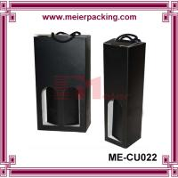 China Top Quality Latest Design wine box with cotton handle ME-CUR022 wholesale