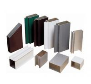 China Satin Anodized Aluminum Extrusion Profile , Construction aluminum extruded shapes wholesale