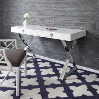 Buy cheap CHANNING DESK for living room or office room with wooden top from wholesalers