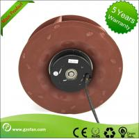 China DC Centrifugal Impeller Fan / 24V DC Blower Fan Backward Curved For Air Circulation wholesale